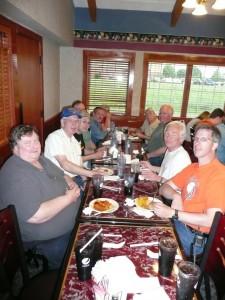 SLAARC 2011 Dayton attendees enjoy a dinner together__